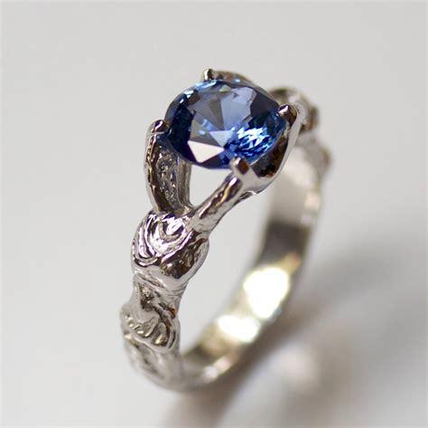 winged victory engagement ring elaina designs