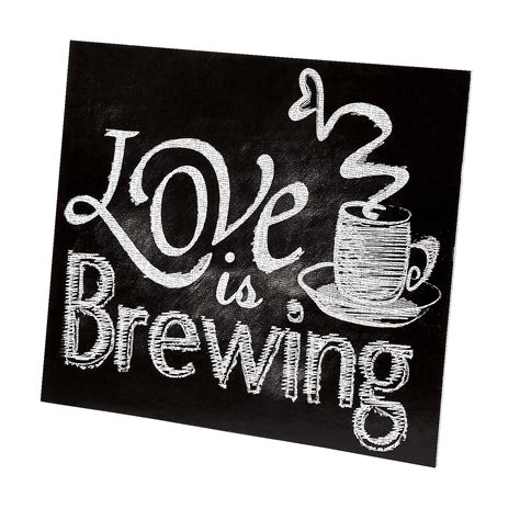 Love is Brewing Tabletop Sign, Centerpieces, Party Decorations, Party Supplies   Oriental Trading