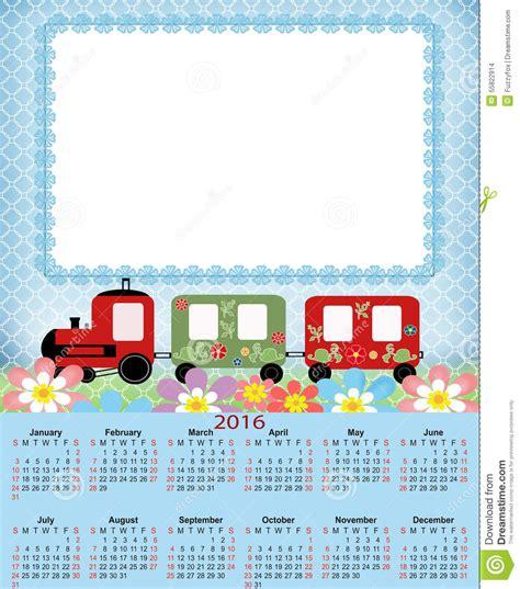 Calendã Novembro 2016 Illustration Calendar For 2016 In Design Stock
