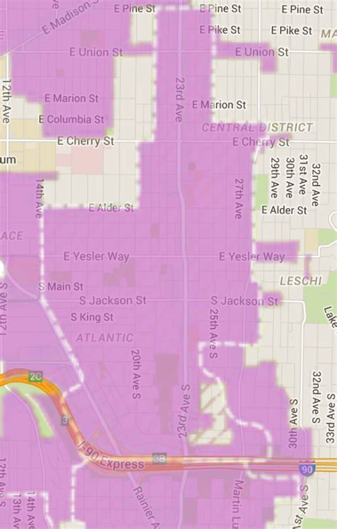 seattle hala map upzone the central district 23rd ave plan calls