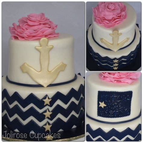 Nautical Bridal Shower Cakes by Nautical Themed Bridal Shower Cake Wedding Ideas