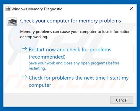 computer ram memory test how to test your random access memory ram