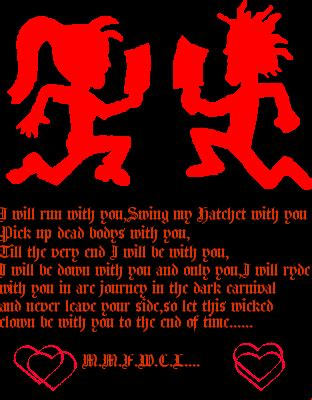 true juggalo love picture 105490445 blingee com
