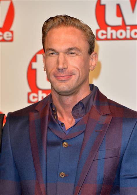 Arrival Christian Doctor Metalic dr christian jessen in tv choice awards carpet arrivals zimbio