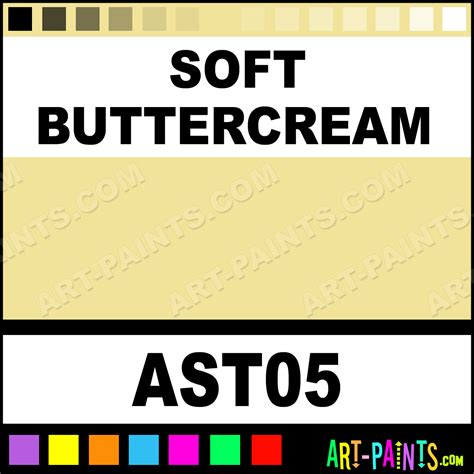 soft buttercream americana stuccos foam and styrofoam paints ast05 soft buttercream paint