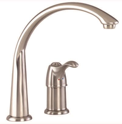 discontinued allerton single handle kitchen faucet