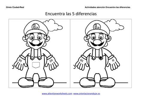 imagenes percepcion visual para niños gea educadores encuentra las diferencias y colorea