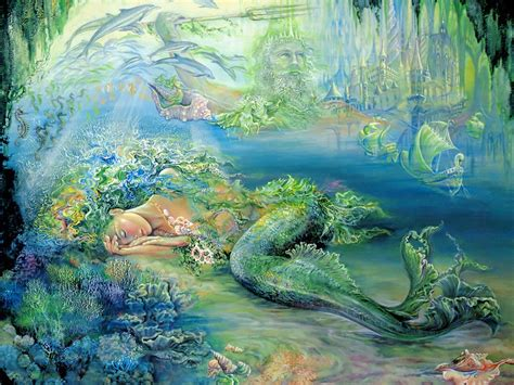 Art Of Imagination Mystical Fantasy Paintings Of Josephine Wall 1024x768 No 11 Desktop Painting Pictures