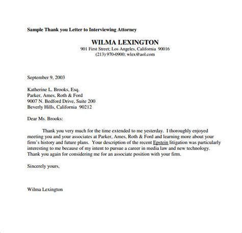 Business Letter Thank You For The Opportunity pin sle personalized fax sheet on