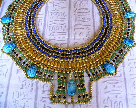 ancient egyptian cleopatra collar necklaces egyptian collar cleopatra necklace egyptian necklace