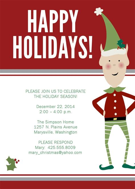 free templates for christmas dinner invitations christmas party invitations google search christmas
