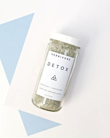 Detox Bath Salts Boots by Detox Dead Sea Bath Salts By Herbivore Botanicals Twig