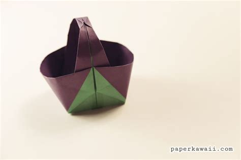 Paper Basket Origami - 17 best images about origami easter on origami