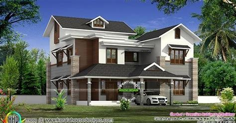 nu look home design windows 2838 sq ft house in modern style kerala home design and