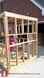 Cost Of Building A Pergola by Diy Deer Blind Myoutdoorplans Free Woodworking Plans