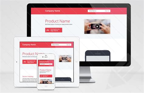 free html product page template 25 free html landing page templates 2017 designmaz