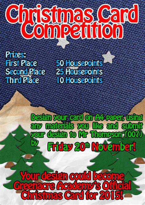 card competition card competition 2015