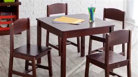 kidkraft table reviews review kidkraft farmhouse table and chair set