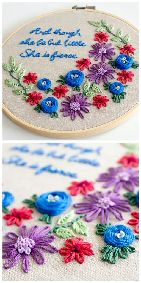 Handmade Embroidery Designs - 25 best ideas about floral embroidery patterns on