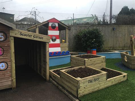 scooters garage appledore primary school outdoor play outdoor play uk