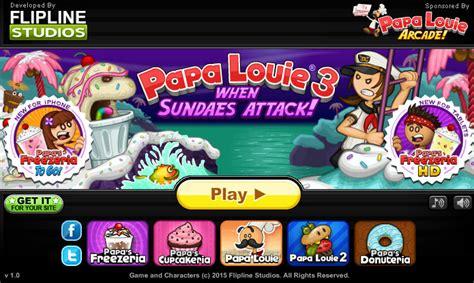 papa s ice house papa louie 3