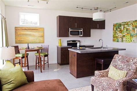 how to decorate a small house with no money 20 fotos e ideas para integrar una cocina peque 241 a abierta