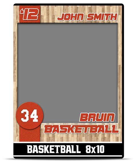 Sports Player Card Template by 13 Basketball Psd Templates Images Basketball