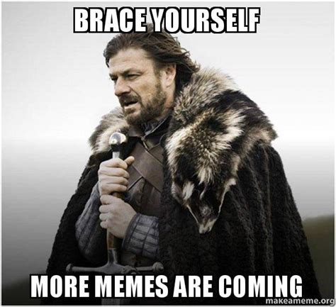 More Memes - brace yourself more memes are coming brace yourself