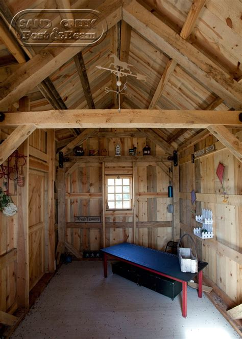 shed interior interior of garden shed pool house pinterest