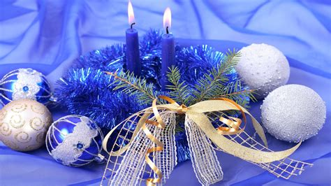 blue christmas decor wallpapers 1920x1080 785306