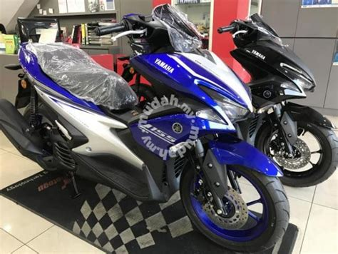 Stripping Aerox Limited Stok yamaha nvx 155 abs premium scooter king motorcycles