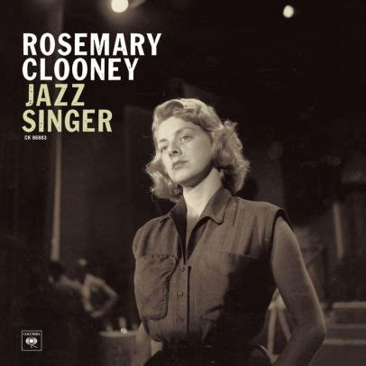 rosemary clooney albums value jazz singer by rosemary clooney 886972395524 cd