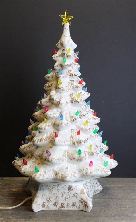 white ceramic tree with lights white ceramic tree with lights sangsterward me
