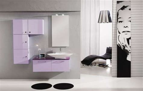 mobile bagno lilla mobili lilla in bagno