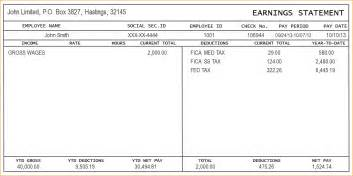 Independent Contractor Pay Stub Template independent contractor pay stub template sle pay stub