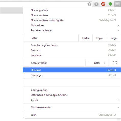 quitar imagenes google chrome c 243 mo borrar el historial y datos de navegaci 243 n en google