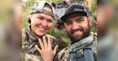 Backyard Mma First Photos Emerge From Ronda Rousey And Travis Browne S