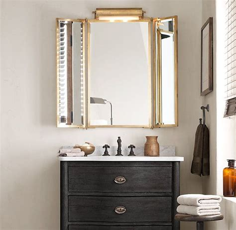 Tri Fold Bathroom Wall Mirror Best 25 Tri Fold Mirror Ideas On Pinterest
