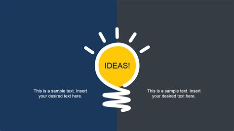powerpoint template ideas bright idea slide design for powerpoint slidemodel