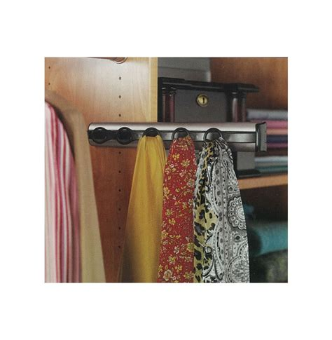 Scarf Racks For Closets by Scarf Rack 6 Hooks Contempo Space