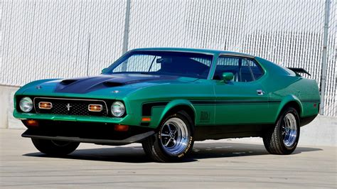 ford mustang 1971 mach 1 1971 ford mustang mach 1 fastback f155 1 indy 2016
