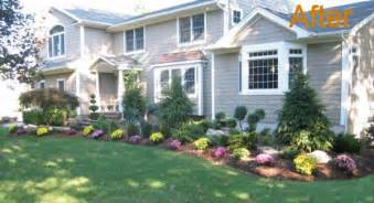 ideas for a slope front lawn landscaping ideas