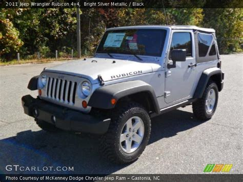 jeep rubicon silver bright silver metallic 2011 jeep wrangler rubicon 4x4