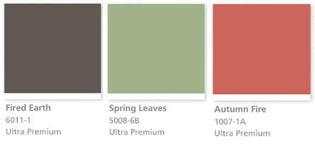 valspar color palette fall colors from valspar paint