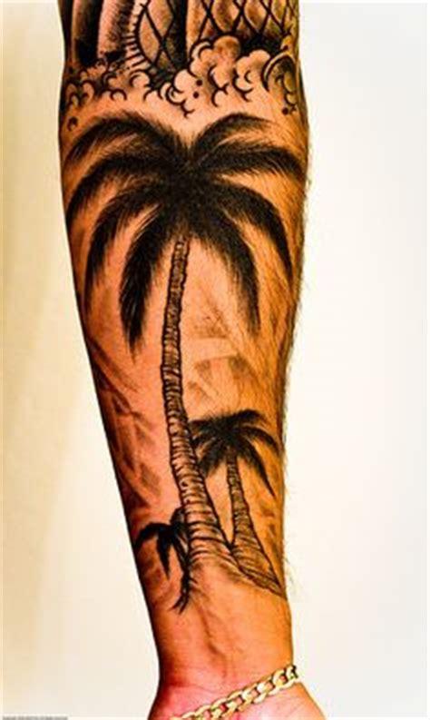 palm tree tattoos on pinterest palm tree tattoos