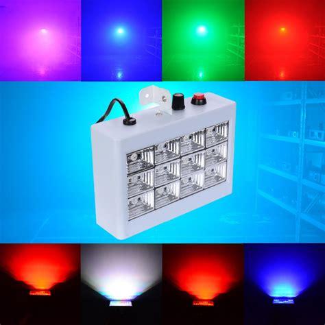 dj flash light price 25w colorful light 12 rgb led ball projector stage strobe