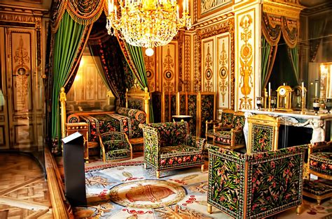Napoleons bedroom chateaux fontainebleau france photograph by jon berghoff