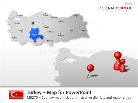 powerpoint map turkey presentationload