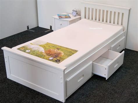 single bed with drawers wooden beds modern and traditional wood frames