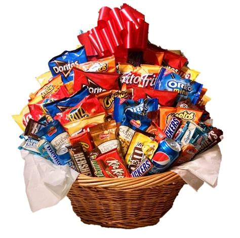 snack gifts chocolate and snack gift baskets snack sler by m r